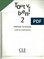 Tout Va Bien 2 Livre Du Profesor