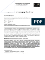 Airway Complications