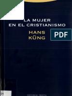 Hans Kung La Mujer en El Cristianismo