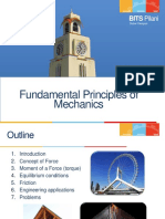 Fundamentals of Mechanics