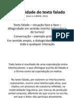 Aula 1 - Especificidades Do Texto Falado (1)