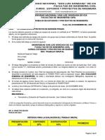 2do. Trabajo Estudios y Proyectos 2018 II