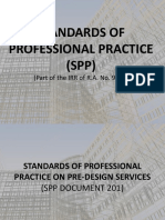 Standards of Professional Practice (Spp)