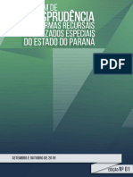 Boletim Jurisprudencia TJ PR Set-out 2018