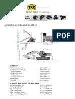 John Deere 110 Hydraulic Excavator Specs