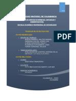 Evaluacion de Control Interno Lacteos Cajamarca
