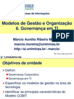 Governança e Tecnologias da Informação