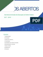 SEDF Plano de Dados Abertos – PDA – 2017-2018