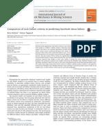 35- Comparison of Rock Failure Criteria in Predicting Borehole Shear Failure