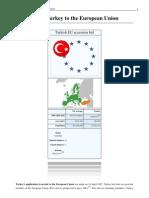 Accession Turkey UE