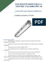 Materiales Para Iluminacion Taladro PDV-10