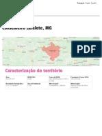 Perfil - Conselheiro Lafaiete, MG _ Atlas Do Desenvolvimento Humano No Brasil
