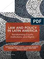 Law and Policy in Latin America Transforming Courts Institutions and Rights