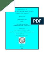 Dónde, Prospección y Excavación de Yacimientos y Estructuras Renfrew Cap 3