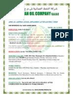 Oman Oil Company Employment Letter