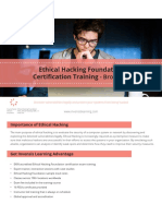 Ethical Hacking Foundation Certification Training Brochure