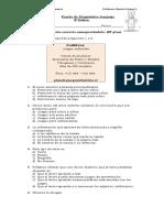 prueba diagnostico leng 4°