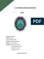 Paper Estudio Preliminar Sobre La Memoria Biocultural