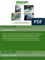 Renew - Certification, Inspection and Test