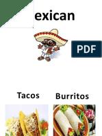 Types of Food Fun Activities Games 42972