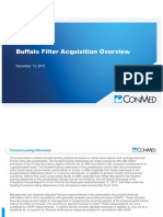 Conmed and Buffalo Filter Acquisition Presentation
