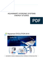 5.0 Aquasmart Hydronic Energy Studies Customer Presentation