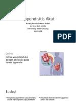 Appendisitis Akut