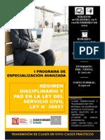 Brochure-pea Régimen Disciplinario y Pad
