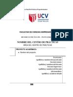 Estructura Del Informe Final de Practicas (1)