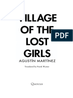 Village of the Lost Girls - Agustin Martinez - Extract