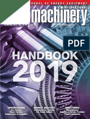 Turbomachinery 2019 Handbook   Gas Turbine   Cogeneration