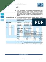 WEG w Poxi Erp 322 Boletim Tecnico Portugues Br