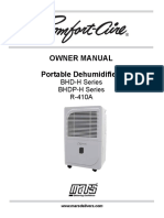 Bhd-h Bhdp-h Owners Manual