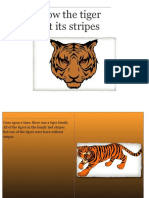 how the the tiger got its stripes
