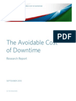 Calculating the Financial Impact of IT Downtime