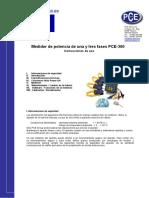 Manual Pce 360 n