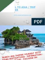 Travel To Asia | Trip Bonder