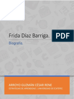 Biografía de Frida Barriga ' Aprendizaje significativo.