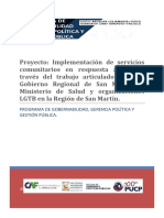 Proyecto PUCP Gobernabilidad