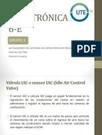 Exposición 3 Autotrónica. IACTAC Control Cruzero