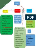 Mapa Conceptual Realismo Lirerario