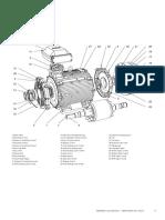 ABB M3BP motor construction