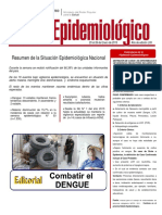 Boletín epidemiológico