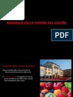 Anomalie Visione Colore