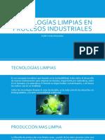 Tecnologías en la industria