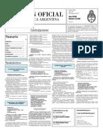 Boletin Oficial 18-10-10 - Tercera Seccion