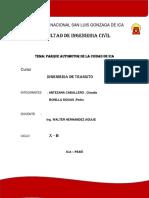 Parque Automotor Ica 2018