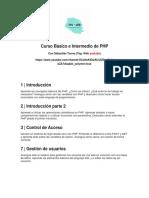Curso Básico e Intermedio de PHP