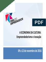 A Economia Da Cultura