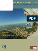 3 Encontro Carioca de Flautas Programacao 2018